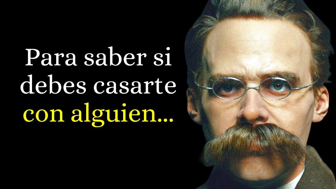 Las 100 Mejores Frases Friedrich Nietzsche