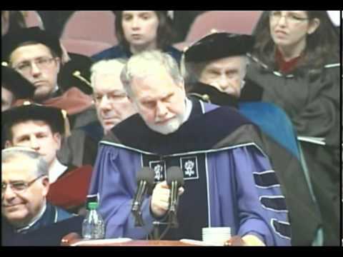 Dr. John Sexton addresses YU's Class of 2011