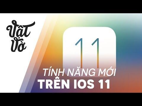 Những tính năng mới trên iOS 11: bật/tắt Data, quay màn hình vv..
