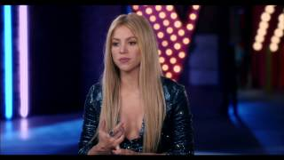 The Voice: Season 6 Premiere: Shakira On Set TV Interview Part 1 of 2