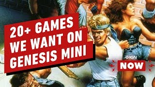 20+ Things We Want From the SEGA Genesis Mini - IGN Now