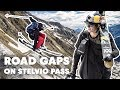 Freestyle Skiing Down The Stelvio Pass | Road Gaps w/ Bene Mayr & Markus Eder