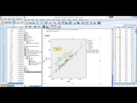 how to run a glm in spss