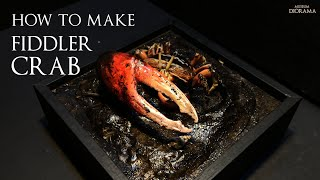 """How to make """"Fiddler crab"""" 농게 …"""