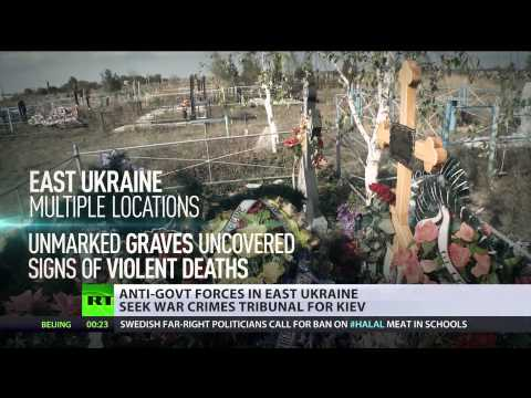 Ukraine: Self-proclaimed Donbass republics call for UN war crimes probe