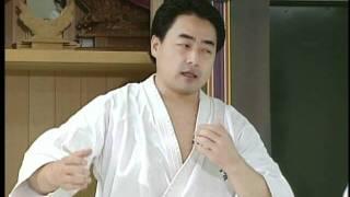 Shokei Matsui lessons kyokushin karate (1/4)