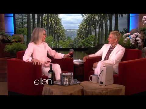 Diane Keaton on Wine, Tantric Sex and Marriage on  Ellen  on  july 2014