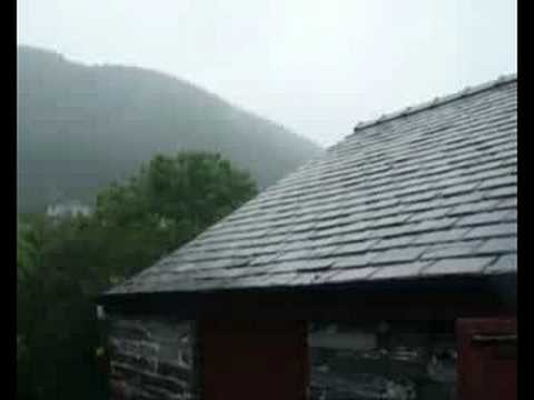 A day out in the Rain -  Corris Railway, Dyfed, Wales