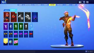 NEW LEAKED SKIN SHOW CASE!! Fortnite Battle Royale