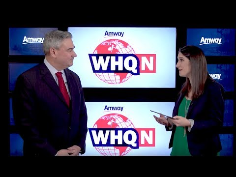Amway COO Mike Cazer Quarterly Business Update | WHQ News