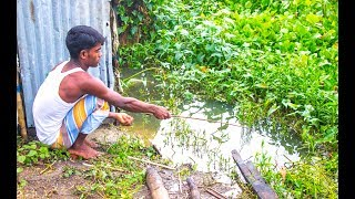 Best Hook Fishing Video || Traditional Hook Fishing at the River with Beautiful Natural (Part-3)