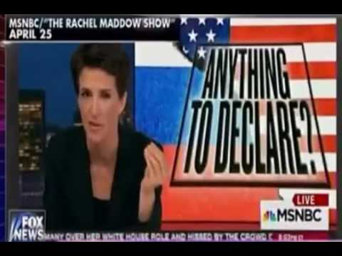 Compilation Of Rachel Maddow Saying Russian City