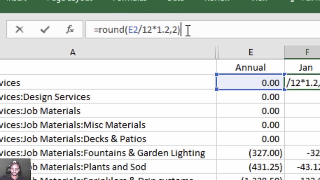 Importing budgets into quickbooks desktop from excel or spreadsheets also rh youtube