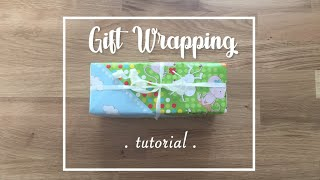 Crafty Mami - Basic Japanese Wrapping Gift Tutorial