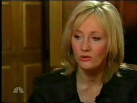 J.K. Rowling Personal Life Interview