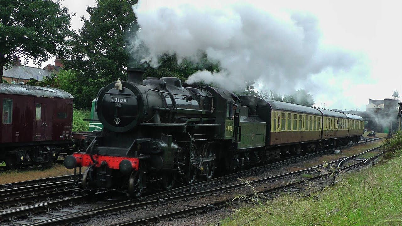 GCR - Woodford Steam Gala - 2015 - YouTube