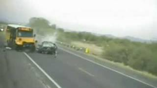 Repeat youtube video Fatal Accident between Car and Bus - FMO