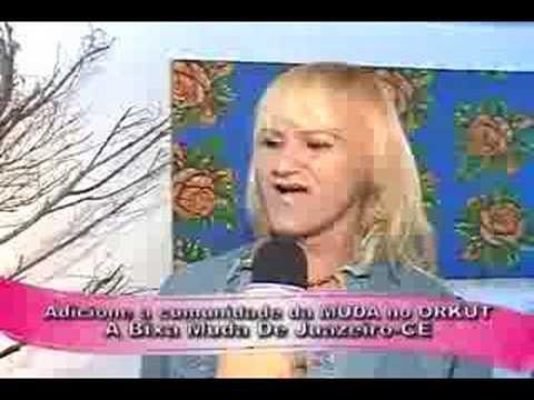 a bixa muda entrevista na tv verde vale ORIGINAL