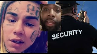 6IX9INE Shows up TO COURT IN HOUSTON with HEAVY SECURITY knowing he has issues with J Prince fam?