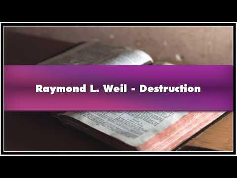 Raymond L. Weil Destruction Audiobook