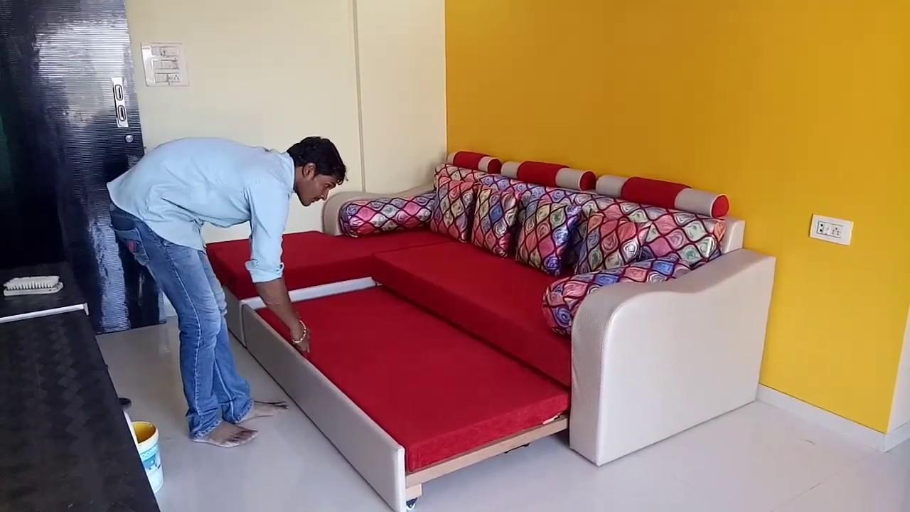 Sofa Come Bed Design Youtube