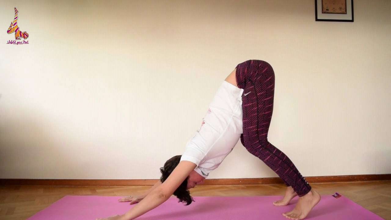 Hatha yoga flow for beginner & intermediate