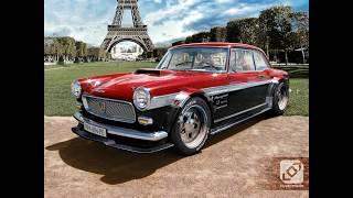 Peugeot 404.  Пежо 404.  1960-1991. Классический француз в Южной Америке.