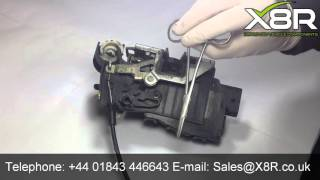 98-05 Mercedes W163 ML320 ML500 Rear Left Driver Side Door Lock Latch Actuator