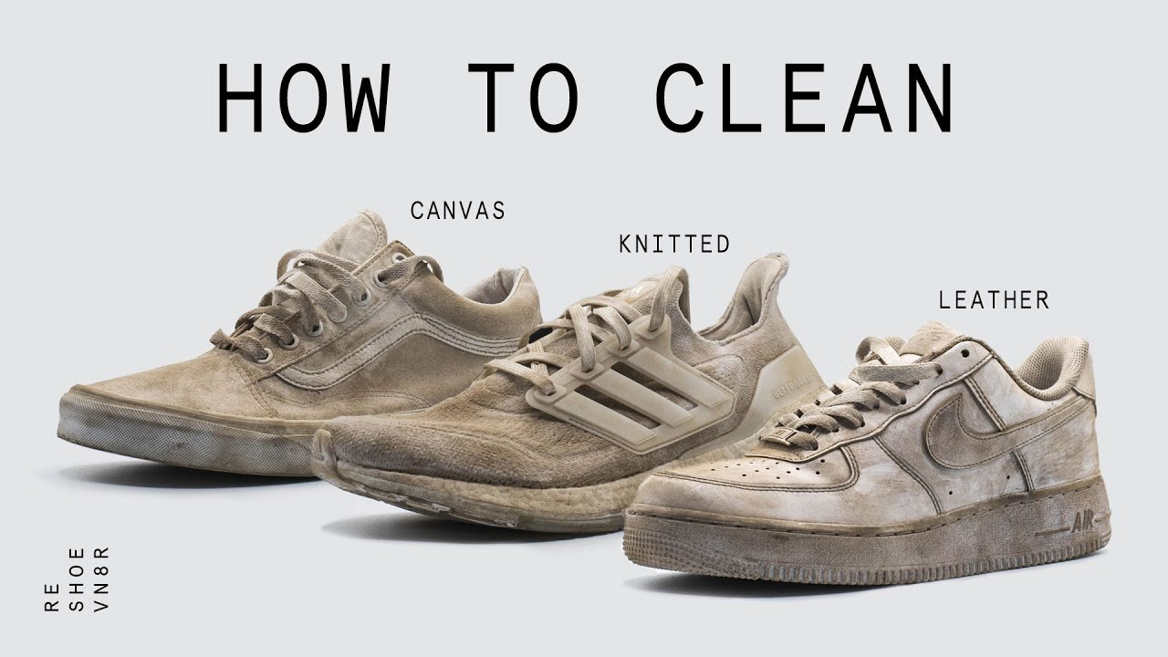 Download How To Clean Your White Sneakers   The Best Method Possible