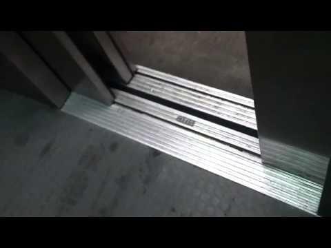 OTIS elevator at Wellington MBTA station parking garage.