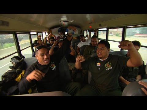 American Samoans lend a hand in battle against California fires
