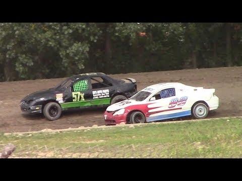 Mini Stock Heat Two | Genesee Speedway | 9-17-17