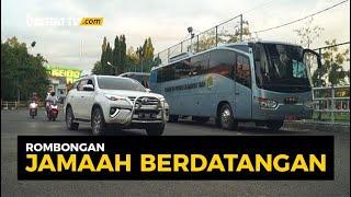 Haul Guru Sekumpul 2020, Kantong Parkir Banjarbaru Mulai Terisi