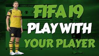 FIFA-19 - Hoe speel je met een eigen gecreëerde Speler in de Career-Mode & Kick Off