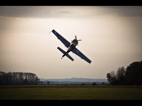 The insane flight with Red Bull Air Race pilot Peter Podlunsek