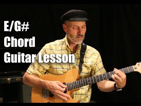 E/G# Chord Guitar Lesson