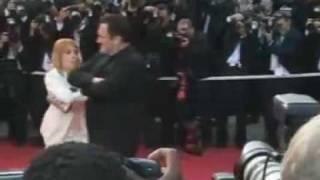 Танец Квентина Тарантино на Каннском кинофестивале