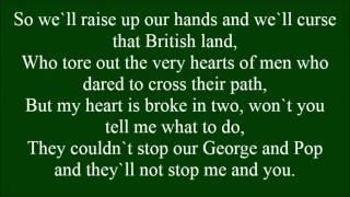 George and Pop with lyrics