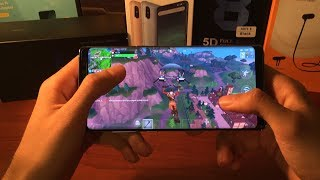 Samsung Galaxy Note 8 Fortnite Testi (Türkiye'de İlk)