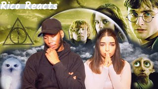 GIRLFRIEND WATCHES Harry Potter and the Deathly Hallows PART 1, FOR THE FIRST TIME !!! (REACTION)