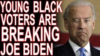 How Young Black Voters Are Breaking Joe Biden