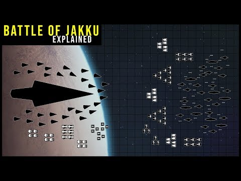 How the New Republic won the Battle of Jakku | Star Wars Battle Breakdowns