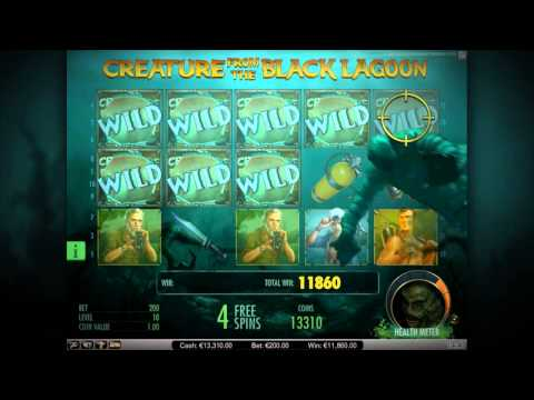 creature from the black lagoon игровой автомат