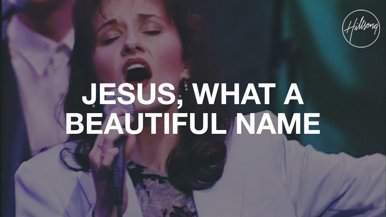 Jesus What A Beautiful Name - Hillsong Worship Sheet Music