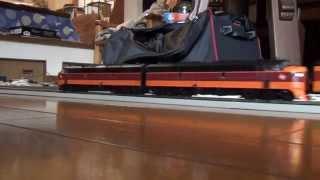 外国型鉄道模型のご紹介(ミルウォーキー鉄道 F7+ハイアワサ号  ウォルサーズ製)