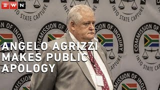 Former Bosasa CEO Angelo Agrizzi made a brief appearance at the commission of inquiry into state capture on 13 March 2020. Agrizzi made a public apology to Correctional Services official Jabu Sishuba after saying in his January 2019 testimony that she had received bribes from Bosasa.