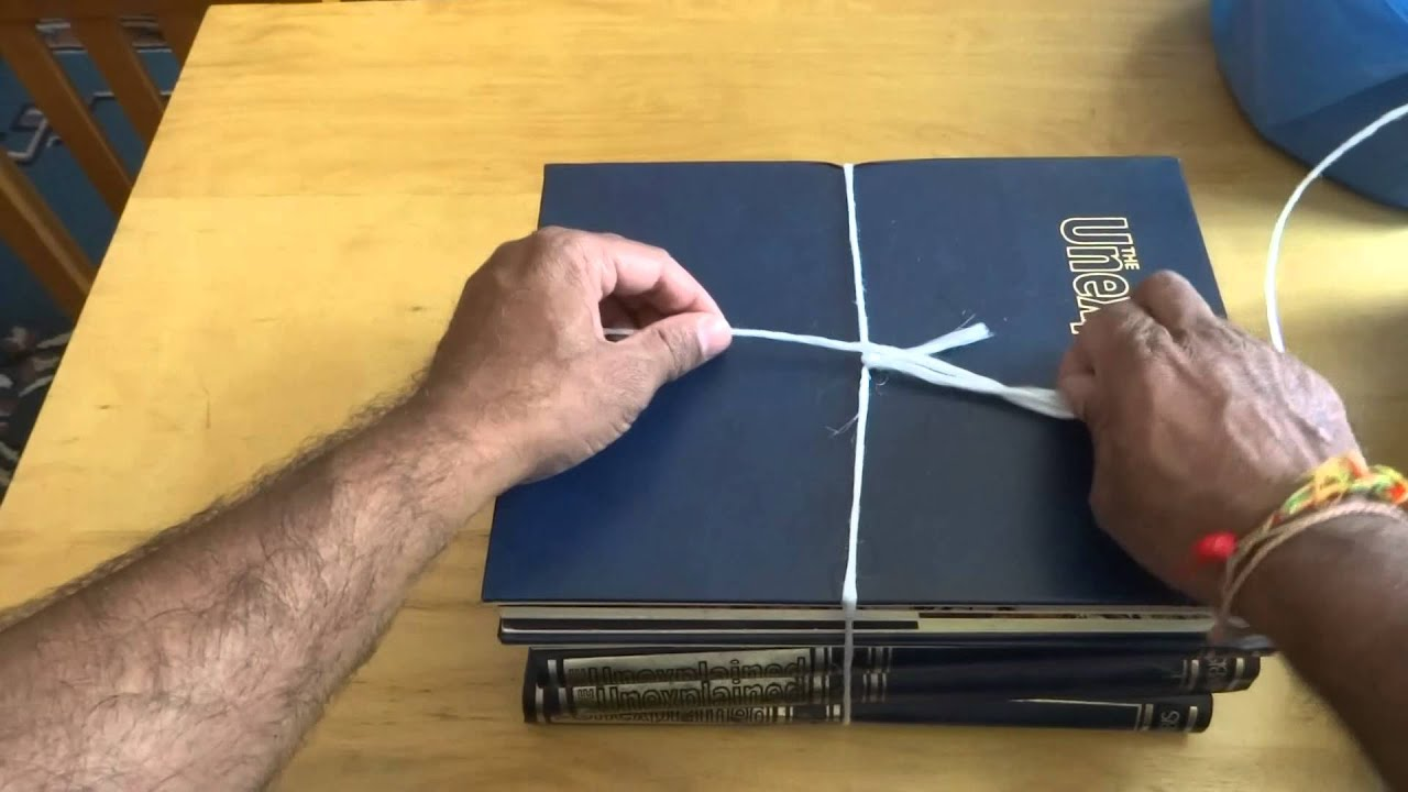 how to tie a useful knot to i e for tying up