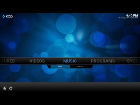 Introduction to the Kodi Music Library