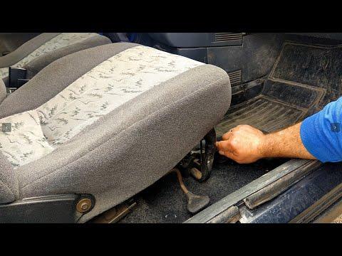 Снятие и установка передних сидений ВАЗ 2109, 2110 и т.д. DoRABOTKA