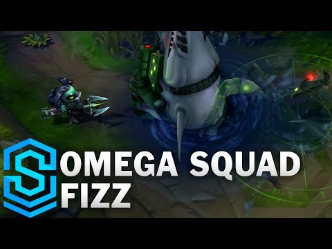 Omega Squad Fizz Skin Spotlight - League of Legends